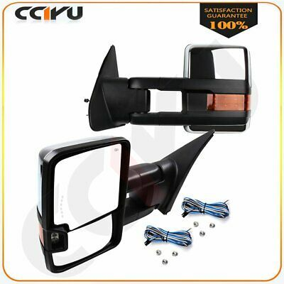 Sponsored Ebay Power Heated Turn Signals Towing Side Mirrors Chrome For Toyota Tundra 2007 2015 In 2020 Toyota Tundra 2011 Toyota Camry Towing Mirrors