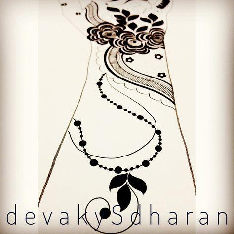 Yesterdays work completed. Arabic/ Gulf design.  https://www.facebook.com/devakysdharanartnhenna