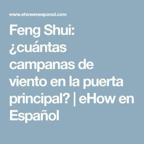 Feng Shui Cuántas Campanas De Viento En La Puerta Principal Campanas De Viento Feng Shui Viento