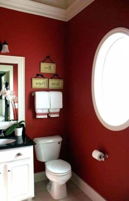 63 Best Ideas Bath Room Black Red Gray Bathroom Red Bathroom Colors Modern Bathroom Colours