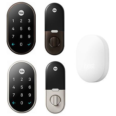 Door Locks And Lock Mechanisms 180966 Nest X Yale Smart Lock With Nest Connect Buy It Now Only 256 95 On Ebay Lo Keyless Deadbolt Smart Lock Yale Locks