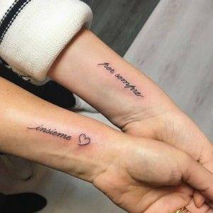Los Tatuajes Mas Chulos Para Parejas De Amigos Tatuaje Novios Tatuajes De Parejas Disenos De Tatuaje Para Parejas