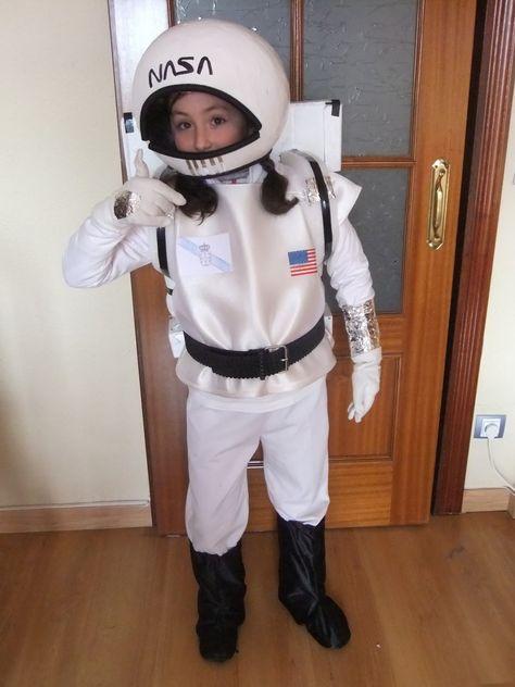 EL TALLER DE SARIVAN: Disfraz de astronauta casero...