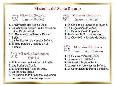 Mis Cosas De Carlos Alberto Santostefano Historia Del Santo Rosario Misterios Santo Rosario Rezar El Rosario
