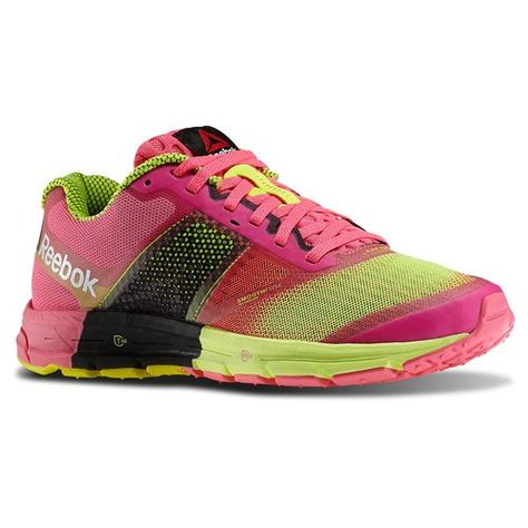 Reebok - Reebok ONE Cushion 2.0 Solar Pink Solar Yellow Black White M43834  - Our popular Reebok ONE Cushion is new and improved offering more midfoot  ... 0f5c8b1a426