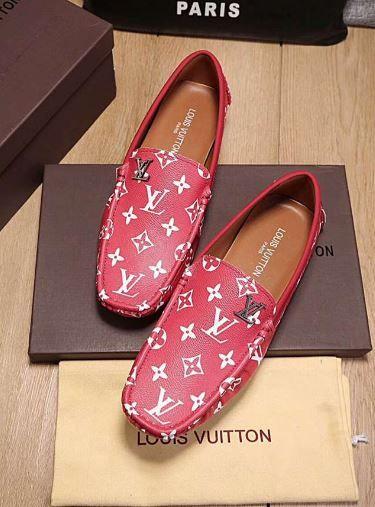 Louis Vuitton Men loafers Sneakers