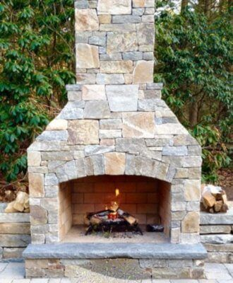 Outdoor Fireplace Kit Outdoor Fireplace Outdoor Fire Feature