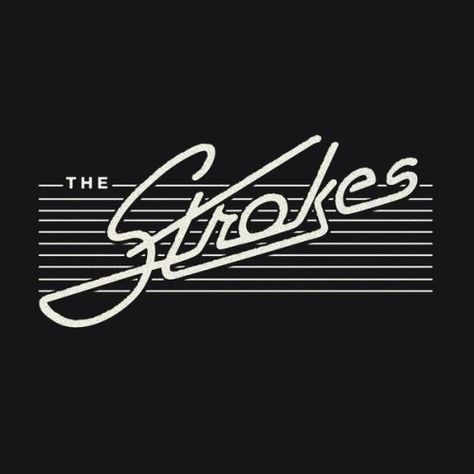 "yeahcasablancas: ""Warren Fu and Liz Hirsch made a new logo for Strokes. I'M…"