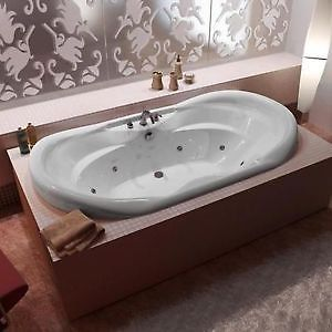 Drop In Jetted Tub.Details About Atlantis Indulgence Whirlpool Tub W Luxury