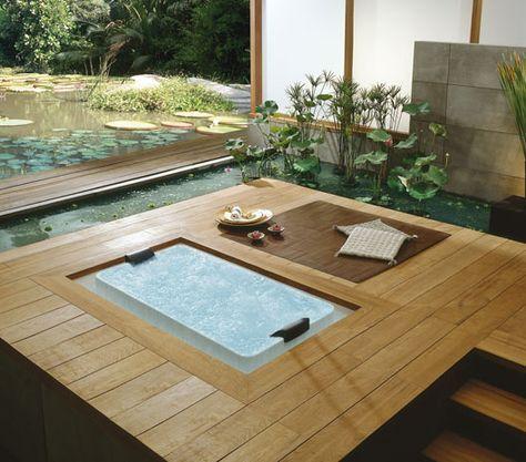 Exklusive Whirlpools aus Edelstahl für Terrasse und Wellnessraum