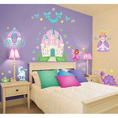 Feature Kids Bedroom Decor Girls Room Decor Kids Wall Decals