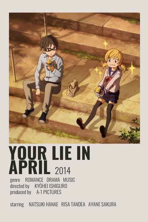 Your Lie in April Poster by Cindy