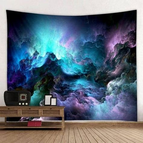 Clouds of Color Tapestry - 150x130cm