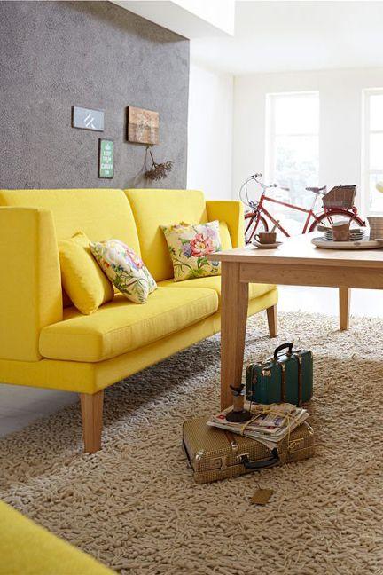 Great Gelbes Küchensofa Balkenese   Das Stilvolle Tischsofa Zeichnet Sich Durch  Sein Frisches Design In Gelb Sowie
