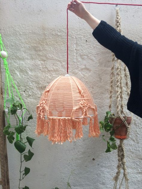 Workshop Lampara de macramé en BARCELONA (14/05/2015) – Meublé, apúntate online en The Hobby Maker