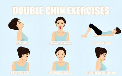 Double Chin Exercises To Tone Your Chin And Neck