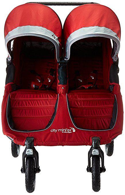 Amazon Com Baby Jogger City Mini Gt Double Stroller Steel Gray