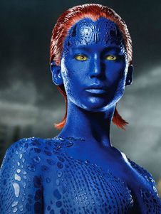 Marvel Comics X Men Mystique Raven Darkholme Cosplay Wig Halloween Mystique Xmen Mystique Mystique Art
