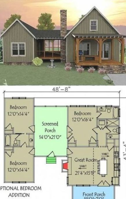 54 Ideas For House Plans Design Layout Cabin Dog Trot House Plans Vacation House Plans Dog Trot House