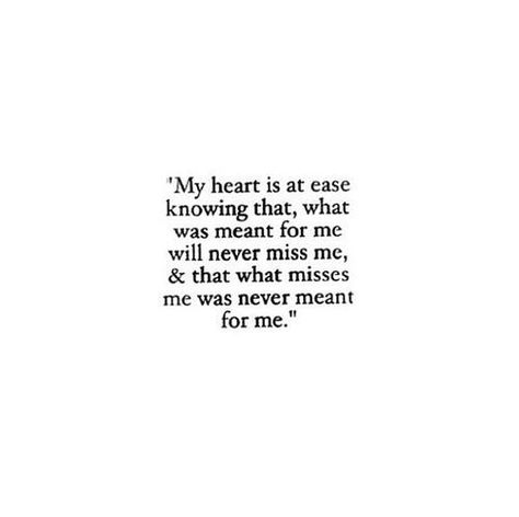 a heart at ease.