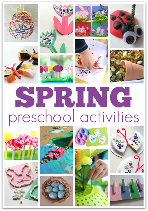 Big List of Spring Preschool Activities