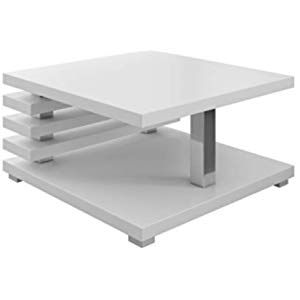 Table basse table d/'appoint sofatisch Table d/'appoint Table Salon Table Blanc