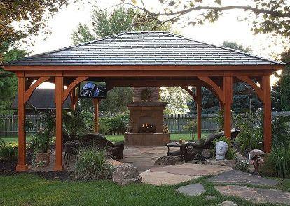 Pergolas Pavilions And Gazebos Diy Gazebo Backyard Gazebo