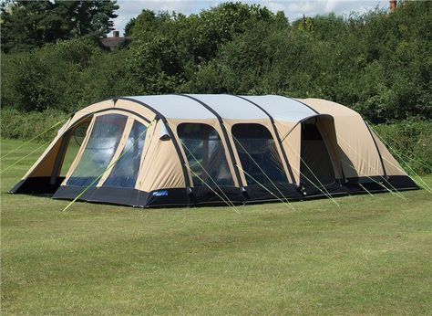 Kampa Studland 8 Classic Air Pro Kamperen Met De Tent Tent Kamperen