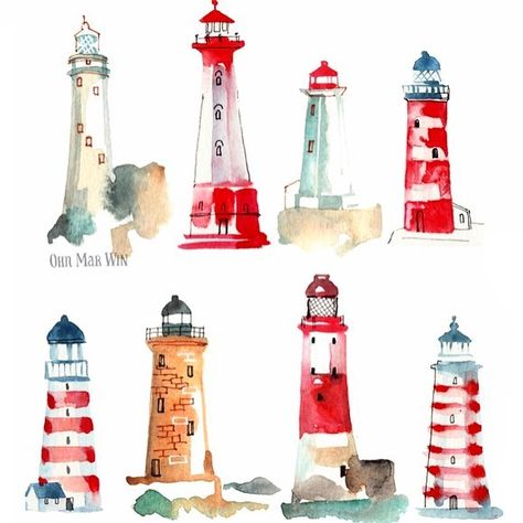 I'm pleased to announce that these lighthouses (combination of two sketch a days several months apart) will be featuring on notecards for - available now. I'll share samples once they arrive