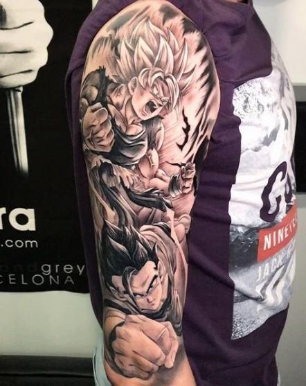 46 New Ideas Tattoo Dragon Ball Fechamento Dragon Ball Tattoo Z Tattoo Dbz Tattoo