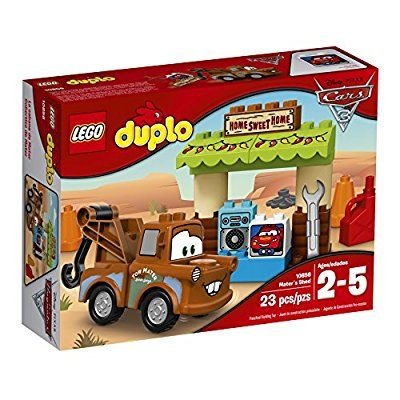 Amazon Com Lego Duplo Mater S Shed 10856 Building Kit Toys Games Lego Duplo Lego Duplo Cars Disney Cars