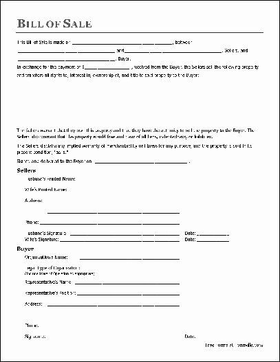 Generic Bill Of Sale Form Printable Unique Free Printable Bill Sale Form Form Generic Real Estate Forms Bills Legal Forms