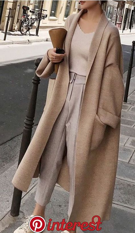 Larga Suelta De Gran Tamaño Cardigan #fashion in 2020 | Winter fashion outfits, Fashion, Winter cardigan outfit   Larga Suelta De Gran Tamaño Cardigan #fashion in 2020 | Winter fashion outfits, Fashion, Winter cardigan outfit