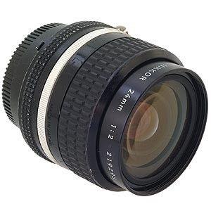 Nikon Nikkor 24mm F 2 Ais Manual Focus Lens 52 Manual Focus Used Cameras Nikon