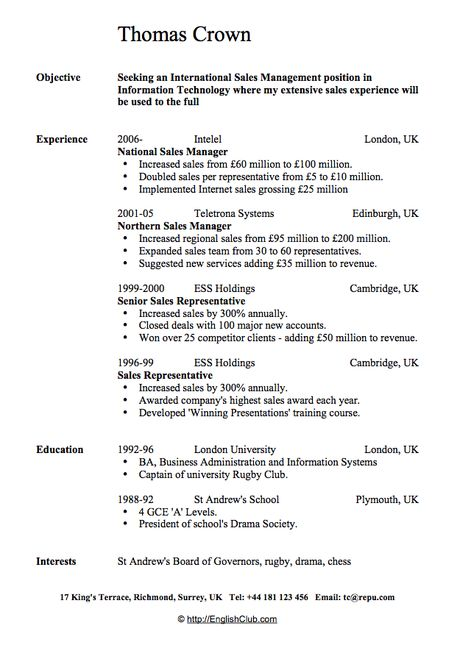 Sales Trainer Resume Resume Pinterest Resume help, Sample - regional sales sample resume