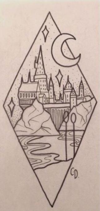 50 Trendy Drawing Easy Ideas Doodles Fun Harry Potter Drawings Sketch Book Simple Doodles