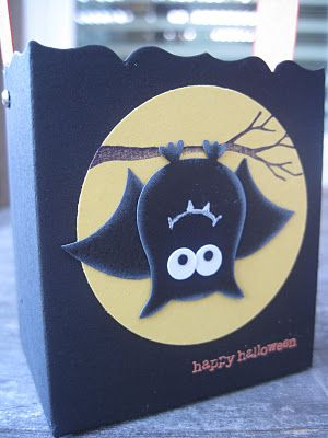 This bat is cute...made from owl punch.