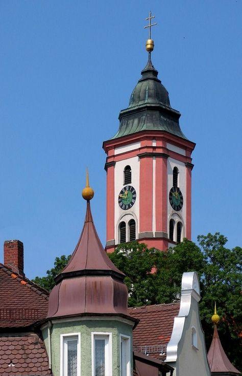 Krumbach town, Bavaria, Germany