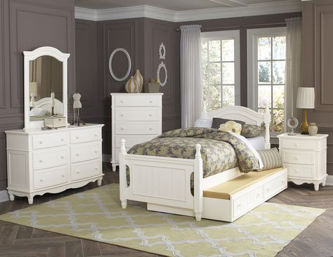 Twin Bed Clementine Collection B1799t Bedroom