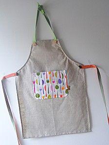 Tuto] Tablier pour enfant | Couture, Tricot crochet and Tricot