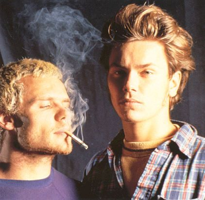 """Flea, bass player for the Red Hot Chili Peppers, was a close friend of River Phoenix. He wrote most of their song 'Transcending' and said, """"..it's about one of the kindest people I ever met in my life. When I think about River I don't think about his death. I don't get sad about it. I think about how incredibly fortunate I was to be friends with a person who looked inside me and saw things that no one else ever saw before. And that song is a respectfully loving song for him.""""  (Jessica Ransford)"""