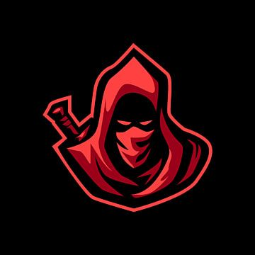 Red Hoodie Assassin Esports Logo For Mascot Ninja Clipart Logo Icons Red Icons Png And Vector With Transparent Background For Free Download Esports Logo Photo Logo Design Logo Icons