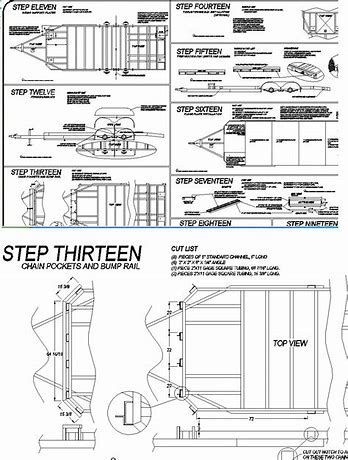 Image result for trailer blue prints (With images