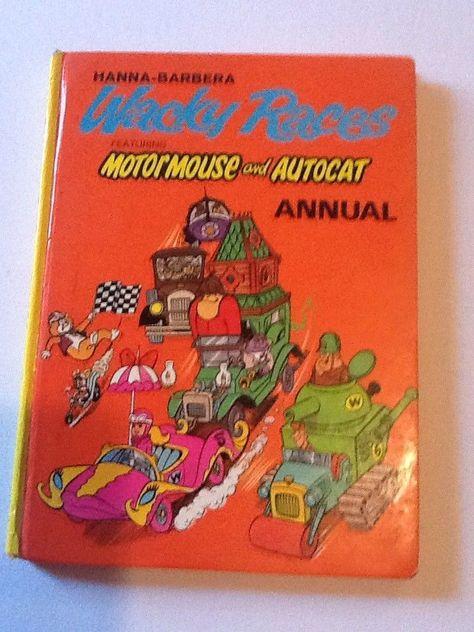 DROOPY Cartoon Network Wacky Racers VINTAGE Sticker