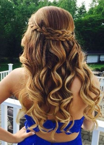 Hairstyles Tongs In 2019 Prom Hairstyles For Long Hair
