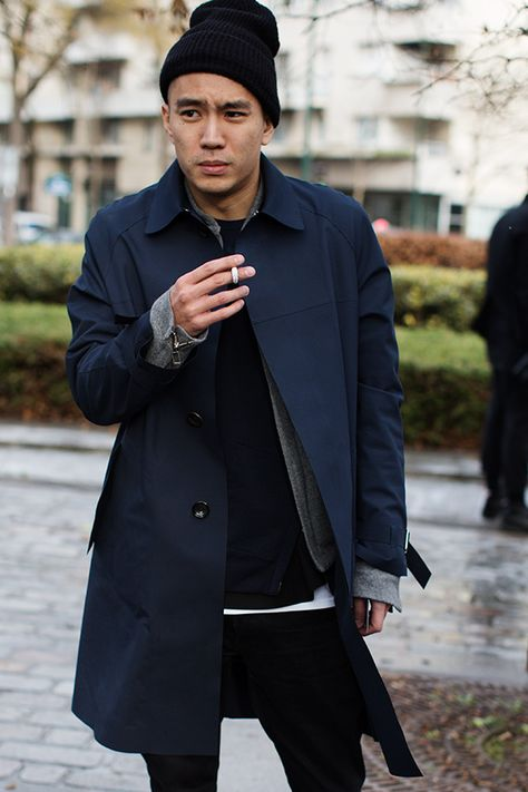On The Street…. Men at shows