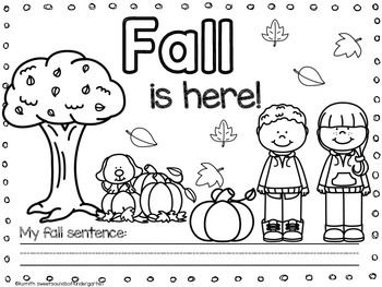 Fall Coloring Page Freebie Fall Coloring Pages Fall