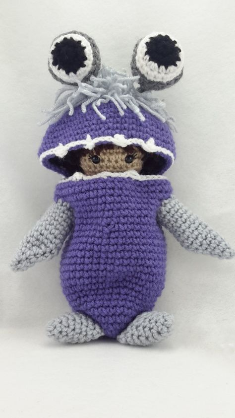 Crochet Mike the Monster from Monsters University! | Shiny Happy World | 842x474