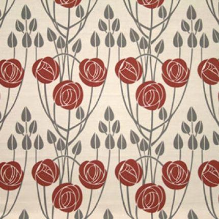 Charles Rennie Mackintosh Curtain And Upholstery Fabric Charles