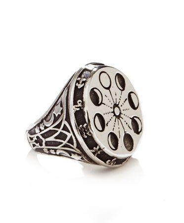 ManiaMania Silver Moon Phase Ring I WANT THIS SOOO BAD!!!!